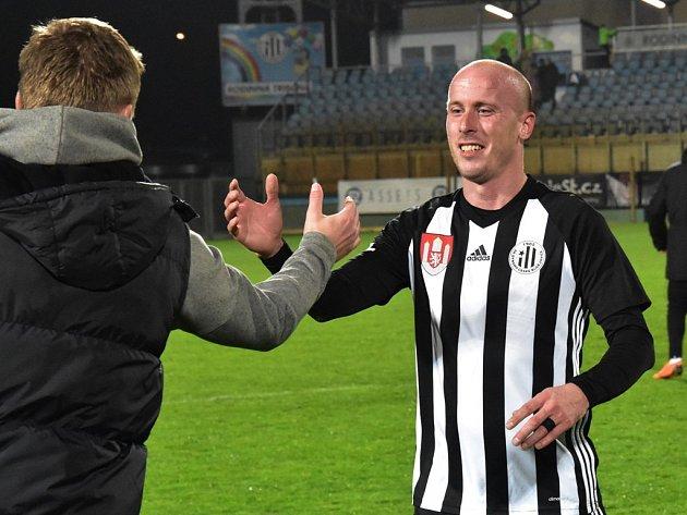 Ivo Táborský dal v zápase Dynama se Žižkovem dva góly.
