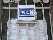 Budějovický okrsek číslo 23, volby do Evropského parlamentu 2019.