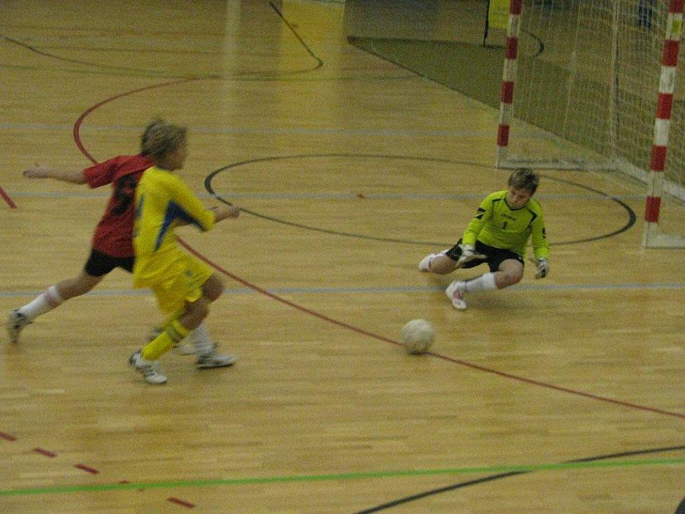 Aviva cup žáků v hale Lokomotivy České Budějovice