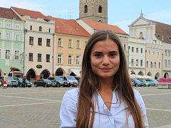 Jedna z nejmladších kandidátek, osmnáctiletá Eliška Balíková.