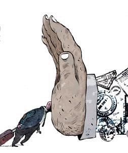 Zpřehlídky karikatur.