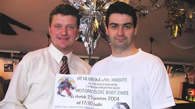 Petr Bělohlav (vpravo) a Ivan Kafka mají krajský titul, v uplynulé sezoně přidali do sbírky i ten okresní.