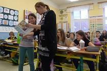 Pátý ročník Základní a mateřské školy v Rudolfově.