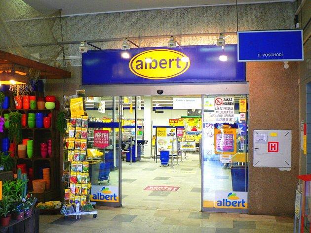 Firma Ahold se rozhodla uzavřít supermarket Albert v Lannově třídě v Českých Budějovicích (na snímku).