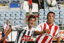 Jiří Funda po zápase s Olomoucí odjel s českou osmnáctkou na turnaj do Portugalska.