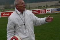 Trenér Vojtěch Brozman si dá od fotbalu pauzu.