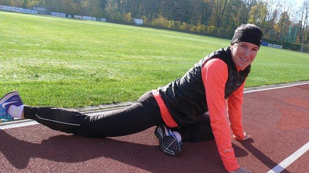 Atletická hvězda Zuzana Hejnová v Sušici. Zářila mezi dětmi jako sluníčko