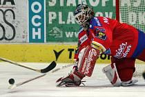 Roman Turek stále patří mezi nejlepší extraligové gólmany a na jeho výkon budou hokejisté HC Mountfield v utkání s Třincem (17.30) hodně spoléhat.