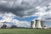 Jaderná elektrárna Temelín patří do skupiny ČEZ.