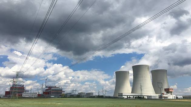 Jaderná elektrárna Temelín. Ilustrační snímek