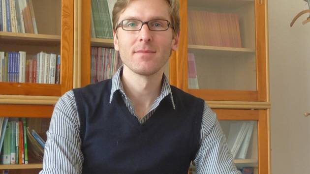 Dalibor Kučera z Katedry pedagogiky a psychologie Pedagogické fakulty Jihočeské univerzity
