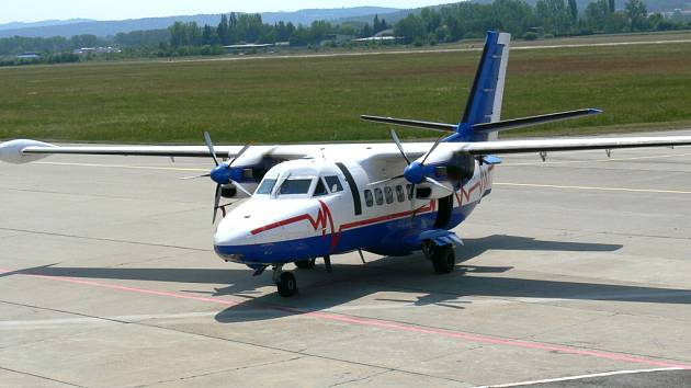 Velká dopravní letadla by měla v Plané přistávat už v příštím roce. Ilustrační foto