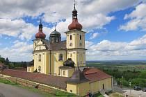 Marie Kadlecová navštívila Dobrou Vodu a kostel Nanebevzetí Panny Marie, Kraví horu a Hojnou Vodu u Zvonu.