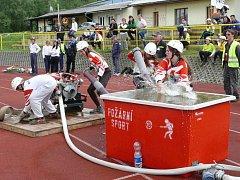Mladí lišovští hasiči zazářili na krajském kole soutěže Plamen