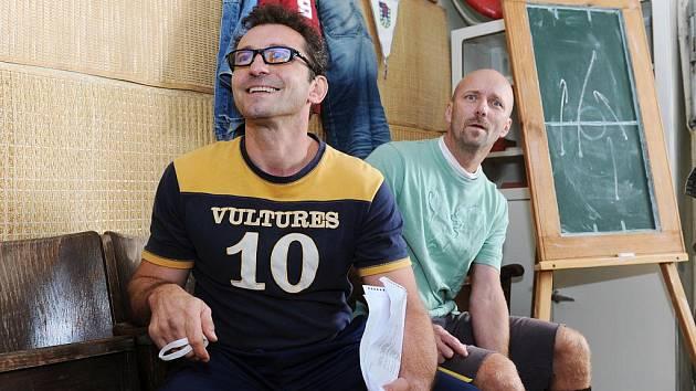 Svou roli kapitána Slavoje Houslice ze seriálu Okresní přebor přiblíží v sobotu na táborské přehlídce Videofest herec Ondřej Vetchý.