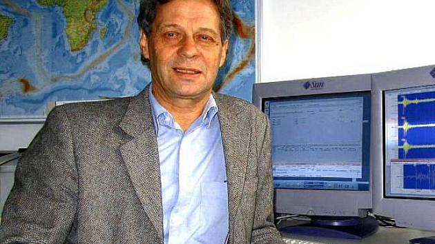 Rakouský seismolog Gerold Duma.