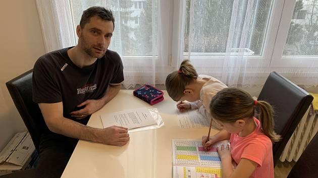 Hráči Jihostroje v době pandemie. Tomáš Fila