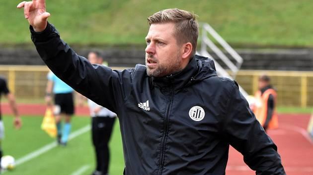 Trenér David Horejš věří, že Dynamo ve Znojmě v neděli zaboduje.