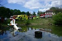 Nehoda letadla u Hosína.