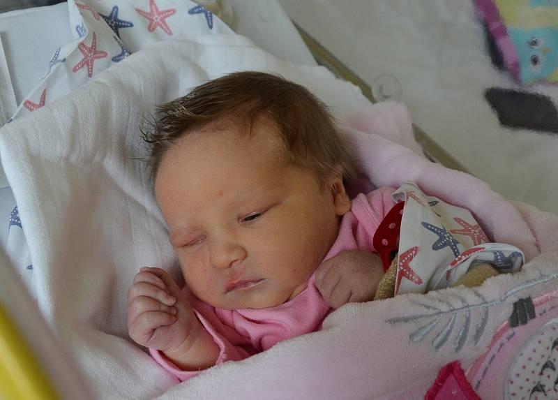 V Plané nad Lužnicí bude vyrůstat novorozená Nela Slepičková. Dcera Terezy Berkové a Jaroslava Slepičky se narodila 24. 9. 2021 v 8.31 h. Váha po porodu ukazovala 3,40 kg.Foto: Jana Krupauerová