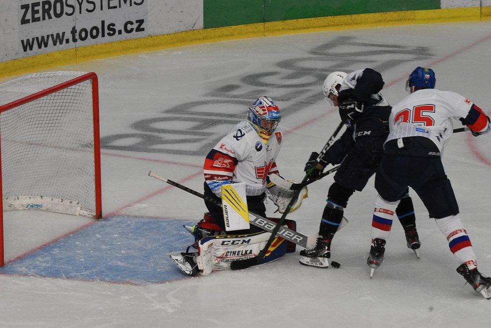 Přípravný hokej Plzeň - České Budějovice