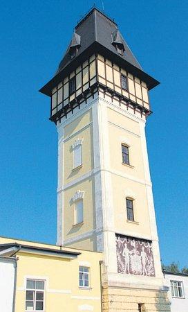 Vodárenská věž.