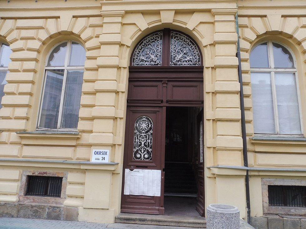 Volby na ZŠ Nová, České Budějovice
