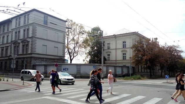Žižkova kasárna v Českých Budějovicích.