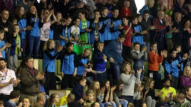 APLAUS. Třeboňští diváci viděli po delší době ve své sportovní hale v akci špičkové házenkáře. Čeští reprezentanti zde porazili Rakousko 26:23 a fanoušci jim tleskali ve stoje.