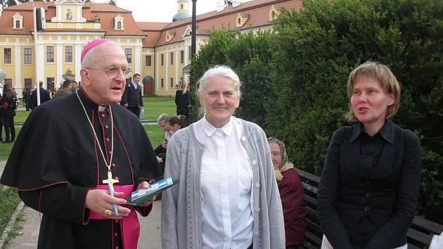 Litoměřický biskup Jan Baxant míří do Tábora.