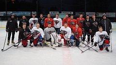 VŠTE má nový hokejový tým Black Dogs.