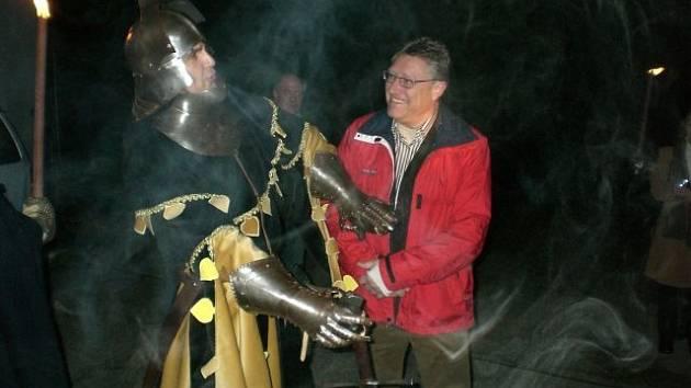 Na Falkensteinu bude v neděli hradní slavnost.
