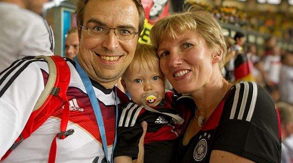 Fandové německé reprezentace mají maskota.