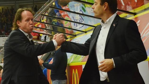 Petr Rosol (vlevo) a Radek Bělohlav.