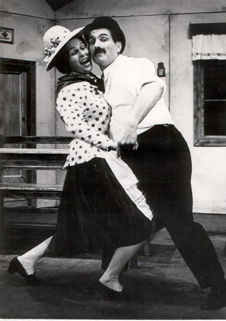 Podskalák. Gerta Hašková a Karel Hašek v roce 1973.