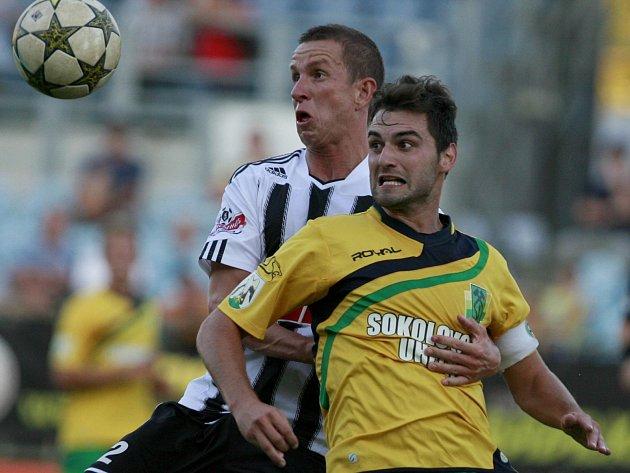 Utkání 4. kola Fotbalové národní ligy mezi SK Dynamo České Budějovice a FK Baník Sokolov.