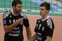 Radek Motys a Petr Michálek (zleva).