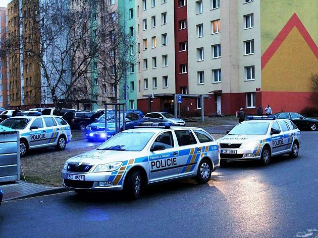 Desítky policistů zasahovaly v úterý v podvečer u potyčky na českobudějovickém sídlišti Máj.