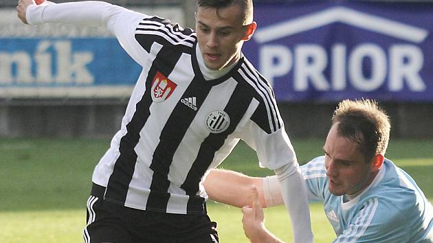Jakub Pešek proti Vyšehradu pečetil výhru Dynama druhým gólem.