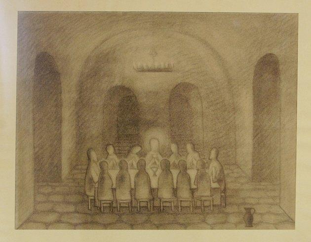 Návrat malíře Jana Zrzavého do Vodňan. Výstava stímto názvem potrvá vMěstské galerii Vodňany do 29.prosince.