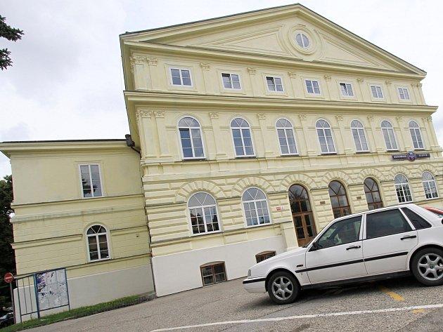 Kulturní dům Slávie v Českých Budějovicích.