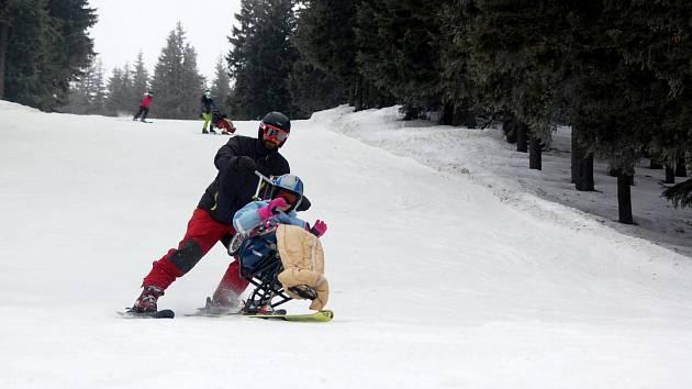 Dětští vozíčkáři vyrazí na lyžovačku