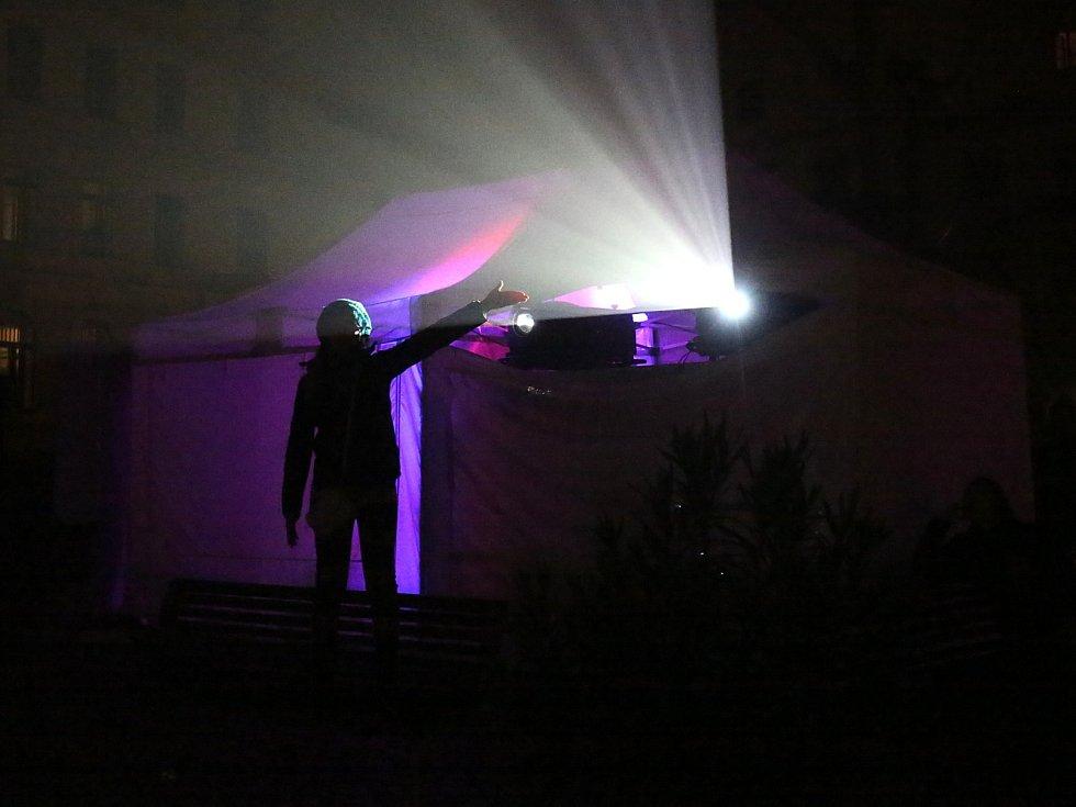 Festival světel v Českém Krumlově
