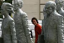PARAFRÁZE. Humanoidi jsou podle Michala Trpáka (na snímku) obrazem naší společnosti. Ženou se za cílem a nemají čas se rozhlédnout.