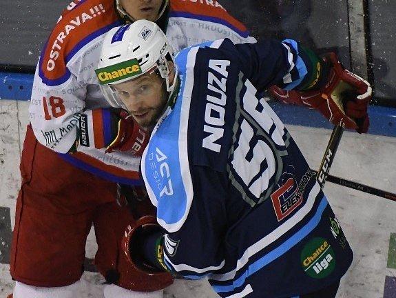 Tomáš Nouza v dresu Vrchlabí.
