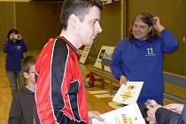 Richard Suchý zaujal ve finále národního finále poháru na Lokomotivě natolik, že ho vedení turnaje vyhlásilo nejlepším mužem na svém postu.