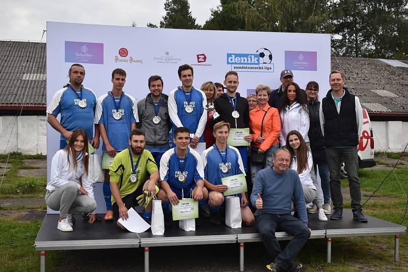 V úterý se v Českých Budějovicích uskutečnilo okresní kolo 2. ročníku Zaměstnanecké ligy Deníku. Stříbní byli hráči ze společnosti Fruko-Schulz.