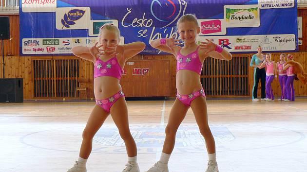 Dvojice z Českých  Budějovic Natálie Vranovská (vlevo) a Karolína Beranová
