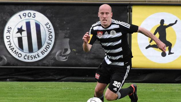 Ivo Táborský dal v zápase s Olomoucí jeden ze dvou gólů Dynama.