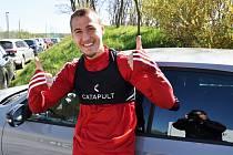 Radost ze setkání se spoluhráči měl na Složišti i Filip Havelka.